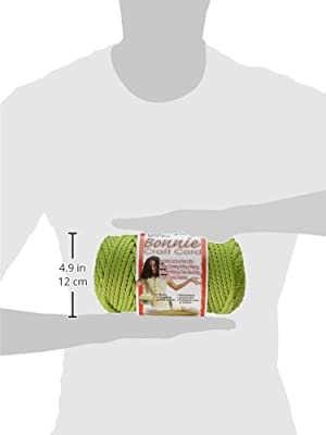 Pepperell BB6100146 Bonnie Macrame Craft Cord, 6mm x 100 yd, Lime from Pepperell