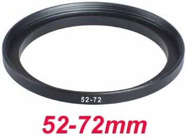 deep-deal 52mm-72mm 52-72 mm 52 to 72 Step Up Ring Filter Adapter