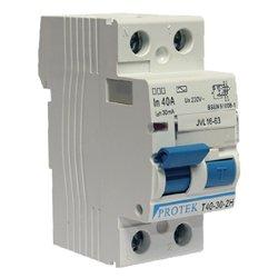 Protek 63 Amp - 30mA Double Pole RCD Generic QVS-PKT63302