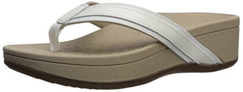 Hightide Leather Vionic 380 Blanco Sandals Pacific Womens qcHAE