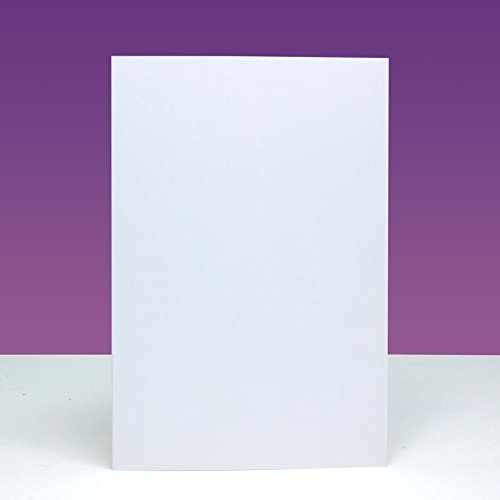 Approx 4x6-in Hunkydory Crafts 300gsm Cards /& Envelopes European A6 CBIM07