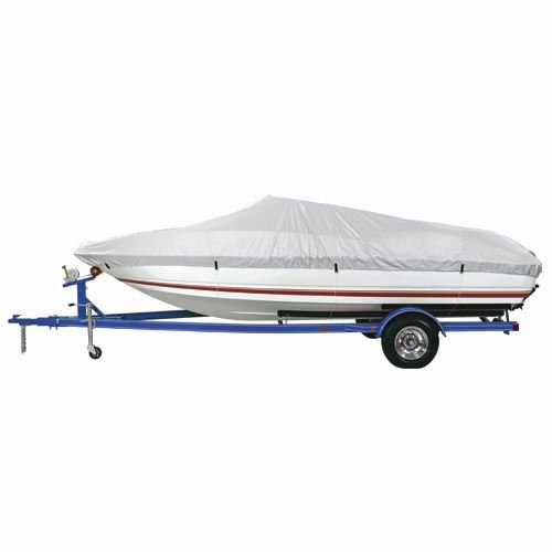 Gulfstream Reflective Polyester Boat Cover B - Fits 17'-19' V-Hull Runabout Boats - Beam Width to 96
