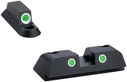 Ultimate Arms Gear BR-141 Tritium 3 Dot Night Sight Front And Rear Set Beretta Nano