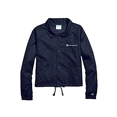 Champion Women's Heritage Woven Coaches Jacket at Women's Clothing store
