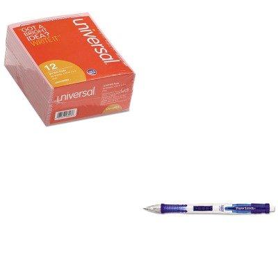kitpap56043unv48023 – Valueキット – Paper MateクリアポイントMechanical Pencil (pap56043 ) とユニバーサル重要なメッセージピンクパッド(unv48023 ) B00MOQ88AW