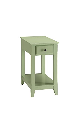 Acme Furniture Acme 82840 Bertie Side Table, Light Green, One Size (Green Light Furniture)