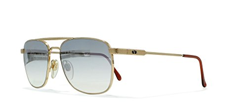 Valentino V429 903 Gold Vintage Sunglasses Aviator For - Aviators Valentino
