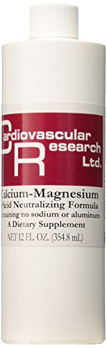 Cardiovascular Research Cal/Mag Acid Neutralizing Liquid, 12 (Cal Mag Stress Formula)
