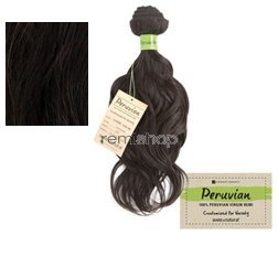 (Sensationnel Unprocessed Peruvian Virgin Remy Human Hair Weave Bare & Natural Loose Wave [24