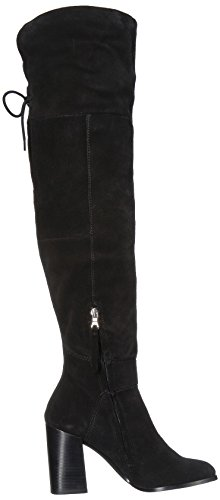 Suede Riding Novela Women's Steve Madden Boot Black naUnS
