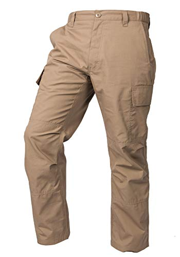 LA Police Gear Mens Core Cargo Lightweight Work Pant - Coyote Brown - 36 X 32