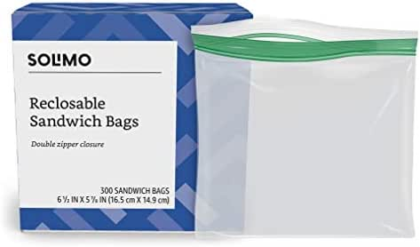 Food Storage Bags: Solimo