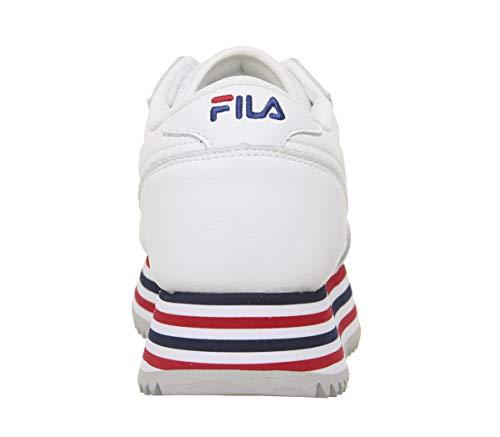 stripe Stripe 37 Orbit Sneaker Fila Eu 101066702p White Nero Zeppa qS1xU
