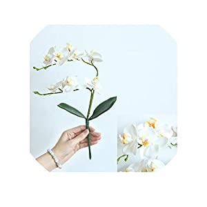 3D Artificial Butterfly Orchid Flowers Fake Moth Flor Orchid Flower for Home Wedding DIY Decoration Real Touch Home Decor,2 56