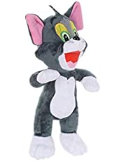 Kids toys Cartoon Tom and Jerry Plush toys 28cm Tom Cat & Jerry Mouse Plush Soft Stuffed Animals toys Doll for Children Gifts