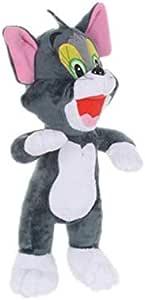 دميات توم القط وجيري الفأر المخملية الناعمة المحشوة بحجم 28 سم، ألعاب مناسبة لتقديمها كهدايا للأطفال