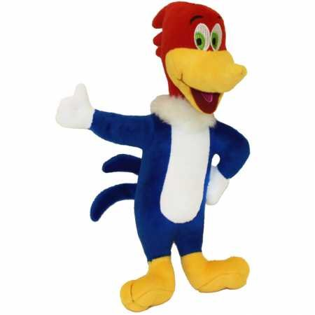 (Multipet Woody Woodpecker Plush Dog Toy 11