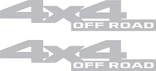 Dodge Ram 2500 3500 Power Wagon 4WD (2010 - 2017) 4x4 Off Road Bedside Vinyl Graphic Decals - Style 017 OEM