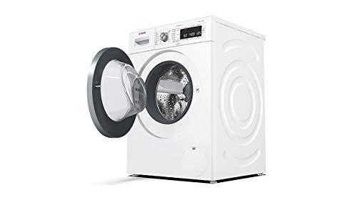 Bosch WAW28570 Serie 8 Waschmaschine Frontlader / A+++ / 196 kWh/Jahr / 1360 UpM / 8 kg / Weiß / Fleckenautomatik / Trommelreinigung mit Erinnerungsfunktion 2