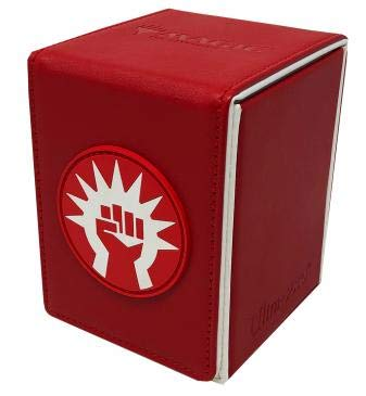 Ultra Pro 100ct Alcove Flip Deck Box MTG Guilds of Ravnica Boros by Ultra Pro