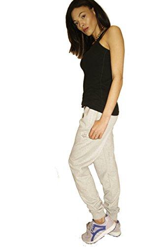 Mesdames Femmes sur fleek Survêtement pour homme Gris Jogging Survêtement pour Femme Jog Pantalon pour femme Tailles 6–16