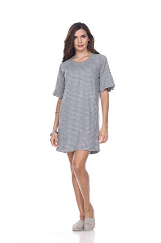 Neon Buddha Women's Standard Getaway Dress, Sporty Grey, Large