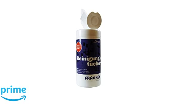Franken Z1920 - Toallitas limpiadoras con dispensador: Amazon.es: Oficina y papelería