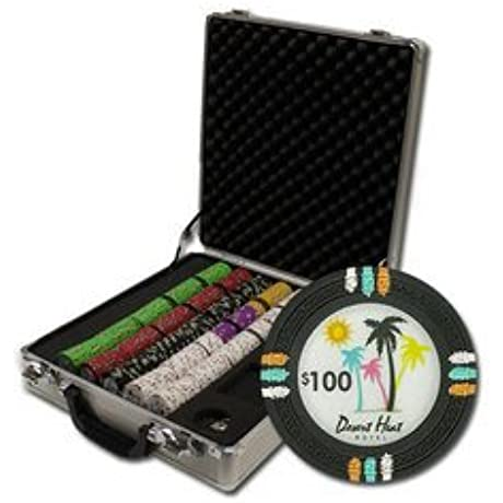 500Ct Claysmith Desert Heat Chip Set In Claysmith Gaming