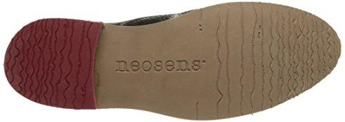 Neosens S924 Fantasy Floral Black Albilla, Scarpe Stringate Basse Derby Donna Nero (Floral Black)