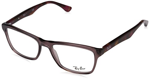 Ray-Ban Men's 0RX5279 Shiny Opal/Brown One Size (Rayban Goggle)