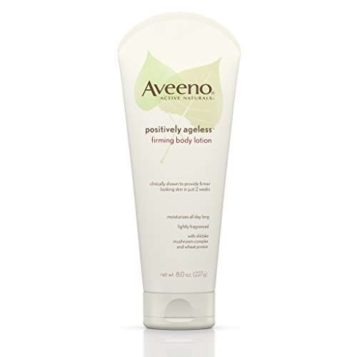 Aveeno Positively Ageless Anti-Aging Firming Body Lotion, 8 Oz (Pack of 2)