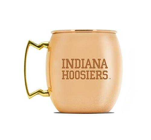 NCAA Indiana Hoosiers 16oz Copper Moscow Mule Mug