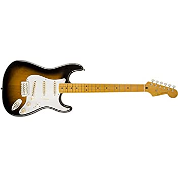 Squier by Fender 303000503 Classic Vibe 50s Stratocaster Electric Guitar - 2-Color Sunburst - Maple Fingerboard