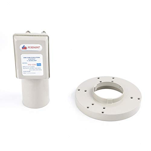Used, C Band Digital Lnb High Gain One Cable Solution Lnbf for sale  Delivered anywhere in USA