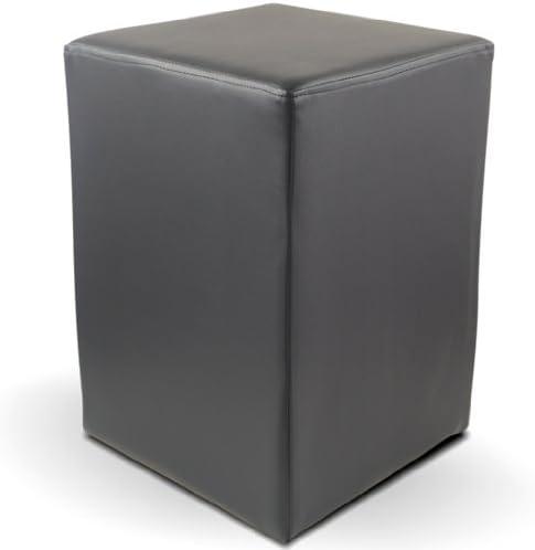 Sitzwürfel CUBIC Hocker Kunstleder Lounge Design Sitzhocker Polsterhocker Würfel