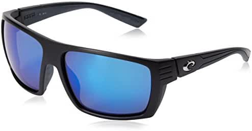 Costa del Mar Unisex-Adult Hamlin HL 10 OGMGLP Polarized Iridium Rectangular Sunglasses