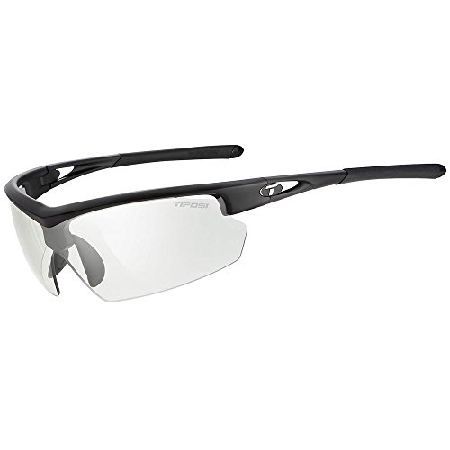 TIFOSI Talos Sunglasses, Matte Black/Light Night One - Sports Magnification With Sunglasses