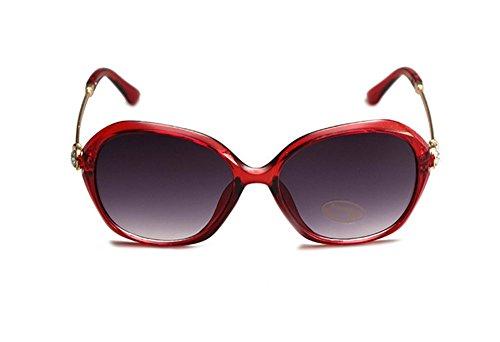 diamante 2 Wicemoon con playa o gafas 4 espejo playa protección de cristales sol vacaciones de de gafas mujer Gafas colores diarias de UV para para de sol 4q804Prw