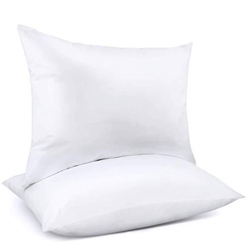 Adoric Pillows, Pillows for Sleeping (2-Pack) Down Alternative Bed Pillows 100% Cotton ()