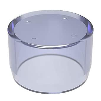 1-1//4 Size FORMUFIT F114CRX-UV Cross PVC Fitting Clear 1-1//4 Size Furniture Grade