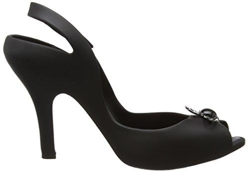 para 18 VW Orb Mujer Black Matte Lady Tobillo con Vivienne Westwood amp; Tira 1003 de Melissa Negro Dragon Zapatos qfTt7pYwn