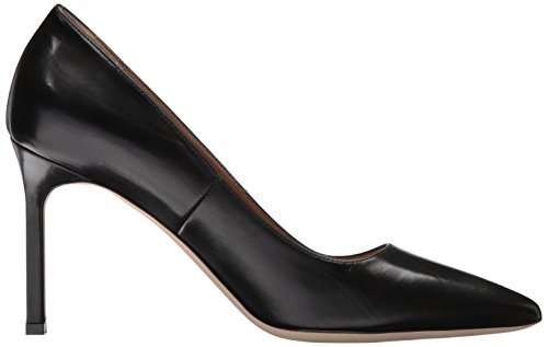 Leather Spiga Via Black Women's Pump Nikole Z7xPPwUTq
