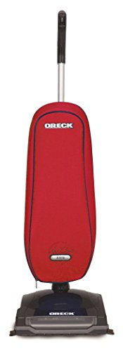 Oreck Upright Vacuum Cleaner Axis | 3 YEAR Warranty | 2 Tune Ups | Carpets, Tile and Hardwood Flooring | Dirt, Debris, Pet Hair | Lightweight, High-Suction Clean (Red)