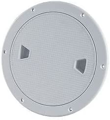 """4"""" SEAFLO Plastic Screw Out Inspection Access Hatch Deck Plate for Boat//RV"""