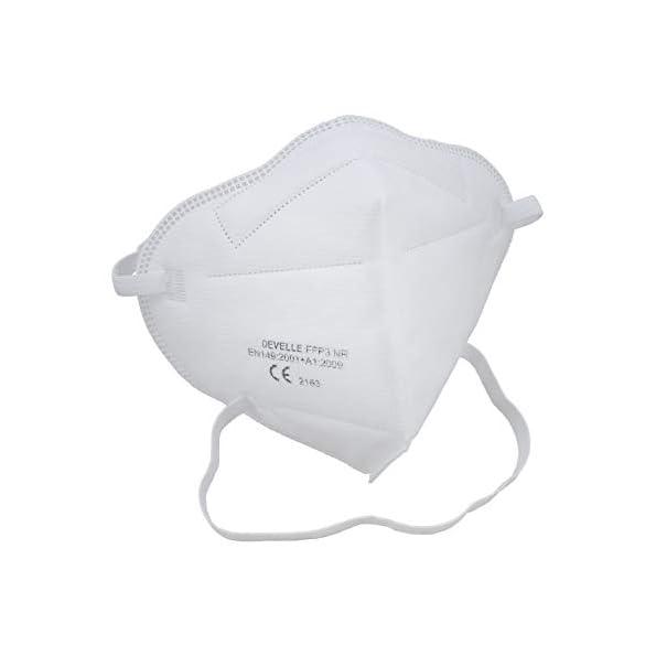 Schutzmaske-FFP3-Atemschutzmaske-DEVELLE-20-Stck-Packung-Schutz-Maske-mit-Kopfband