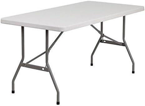 Amazon.com: Mesa plegable moldeada, otro: Kitchen & Dining