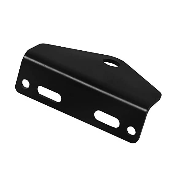NIXFACE Universal Zero Turn Mower Trailer Hitch Heavy Duty Steel Black 5 NIXFACE LISING.Trailer Hitch Materials:Made of heavy duty steel.It has strong load carrying capacity and impact resistance. Package Include:1Pc zero turn hitch without bolts and nuts.Due to the screws of different models may not be the same, if you need, you can go to the hardware store to buy it. Vehicle Fitment:Check your mover for bolt centers,universal means it will fit any brand mower using the bolt center listed.