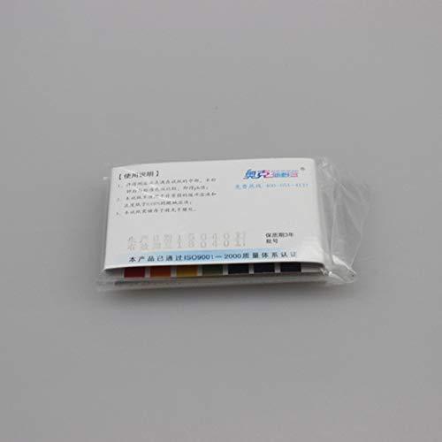 Aprettysunny papel indicador de pH ácido y álcali prueba de la tira de prueba: Amazon.es: Oficina y papelería