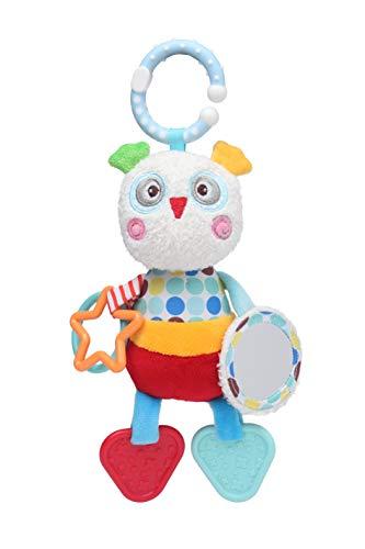 Brinquedo de Pendurar Coruja, Storki, Vermelho