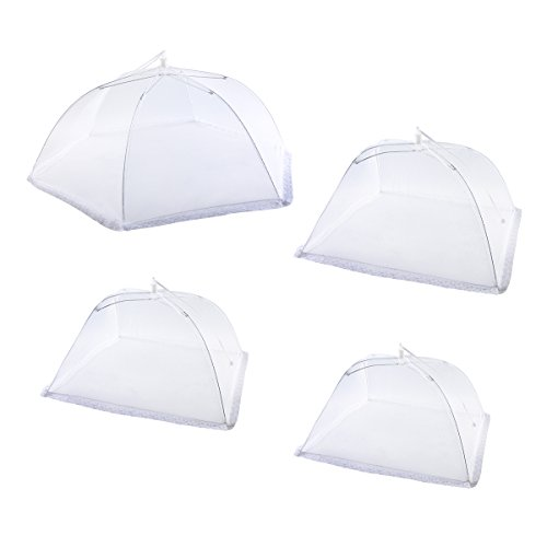 [Upgrade 4 Sizes]Ilyever 4 Pack Food Cover Tent 12.5